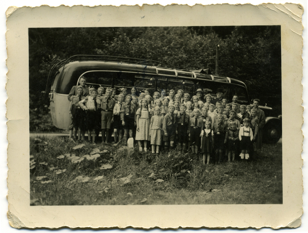 22.07.1936 Bustour mit Kindern