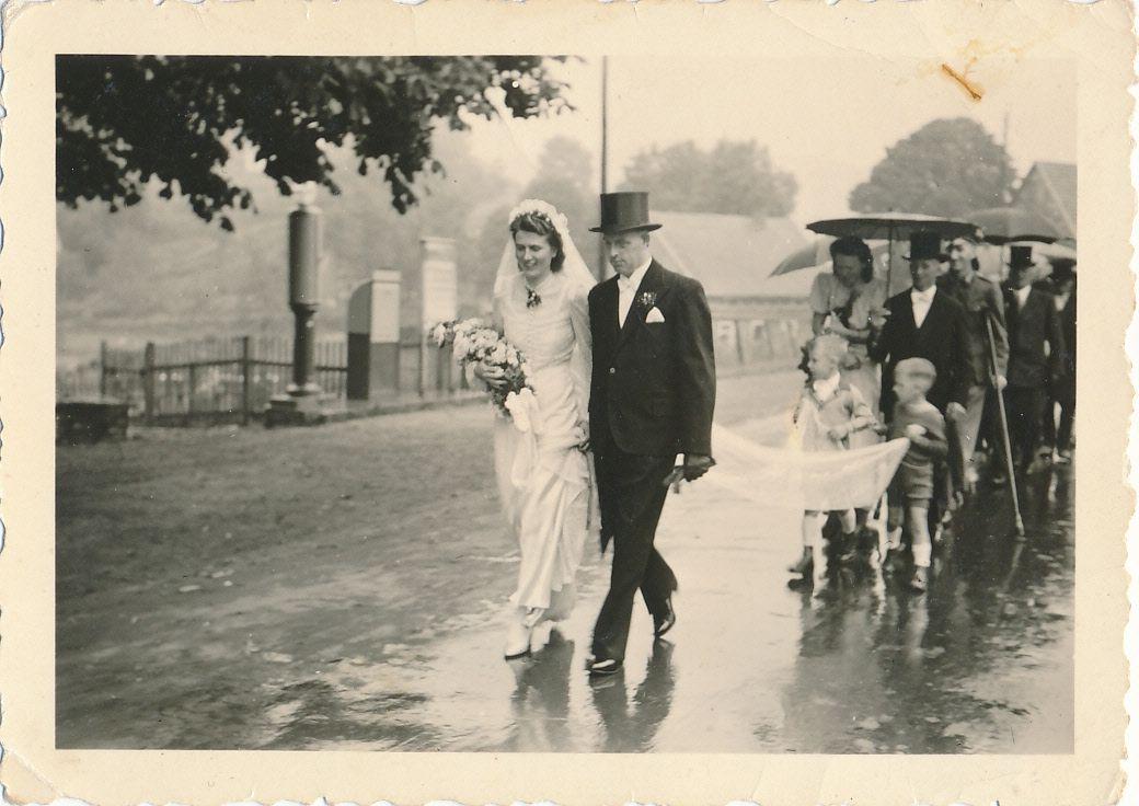 Hochzeit Josef und Hedwig Schneider