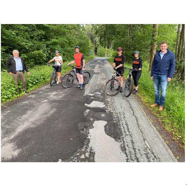 Straße in die Einsiedelei soll saniert werden